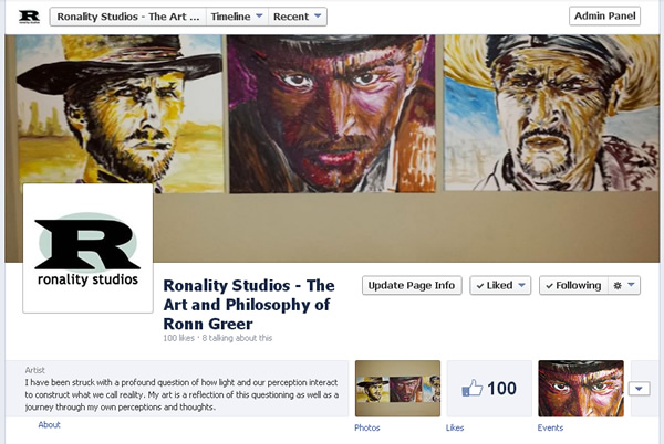 Ronality Studios - The Art and Philosophy of Ronn Greer