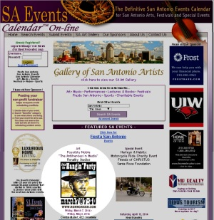 SA Events website posted my announcement for Possibly Noble.
