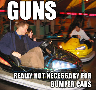 GUNS-bumper-cars