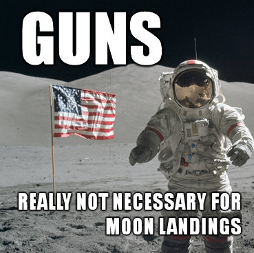 GUNS-moon-landing