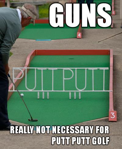 GUNS-putt-putt
