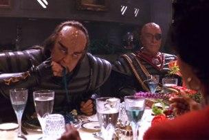 Klingon-eating