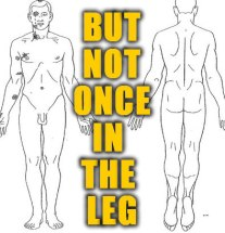 Once-in-the-leg